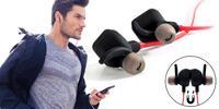 Bluetooth sluchátka C-TECH s mikrofonem