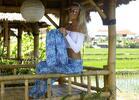 Sety kalhot z Bali pro maminku a její dítko