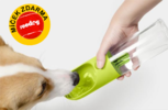 Cestovní láhev s vodním filtrem pro psy