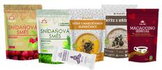 Zdravé snídaně ze superpotravin v bio kvalitě