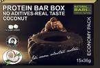 Proteinové a energetické tyčinky i koktejl
