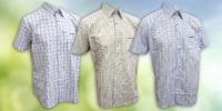 Sportovní kostkovaná košile Life s krátkým rukávem