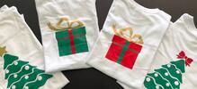 Trička s vánočním motivem pro celou rodinu