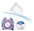 Menstruační kalíšky LilCup z lékařského silikonu