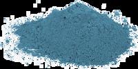 Vzácný modrý čaj zpracovaný jako Blue Matcha