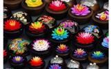 Thajské mýdlo ve tvaru květu v dárkové krabičce