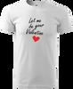 Dámská i pánská valentýnská trička - XS až XXL