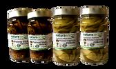 Zavařená zelenina a džemy – 100% přírodní