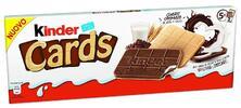 Kinder čokoláda: Happy Moments a Kinder Cards