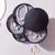 Přehledný otočný organizér na šperky: 3 barvy
