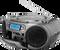 Rádio, kazeťák a CD přehrávač s tunerem DAB +