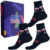 Dárkový set tří párů ponožek s motivy povolání