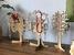Stromeček na šperky z březového dřeva