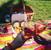 Hostina v parku: piknikový koš plný dobrot