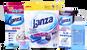 Lanza: gelové tablety na praní i čistič pračky