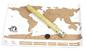 Stírací mapy světa a cestovní deníky