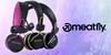 Nepřehlédnutelná sluchátka Meatfly Sambora II